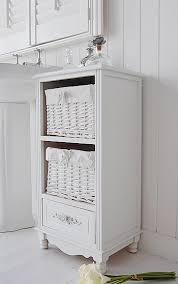 Free Standing Bathroom Shelves Artistic Free Standing Bathroom Cabinet White Cottage On