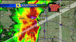 Illinois Tornado Map by We Have Debris Live Broadcast Tornado Warning Rockford Il