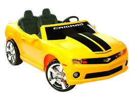 car toy for kids amazon com kid motorz 12v two seater chevrolet racing camaro ride