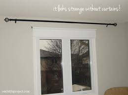 Interesting Curtains Without Rods and How To Install A Curtain Rod