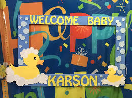 baby shower frames booth frame for boy duck baby shower frame photo frames props