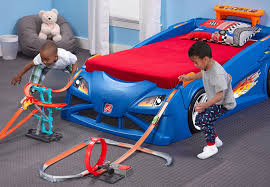 this race car bed is a giant extension of your kid u0027s wheels tracks