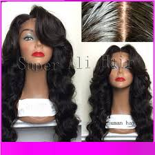 body wave hair with bangs 2015 peruvian body wave wig glueless front lace with bangs baby