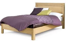 King Size Oak Bed Frame by Cheap Solid Oak Bed Frames In Single King Size Beds Direct Uk