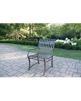 Oakland Patio Furniture Fall Sale Oakland Living Aluminum Wrought Iron Imperial Bench