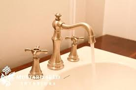 brass and chrome bathroom faucets brass moen brass and chrome