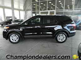 Ford Explorer Ecoboost - 2012 black ford explorer xlt ecoboost 57872801 photo 11