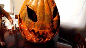 gourdliath giant pumpkin halloween prop youtube