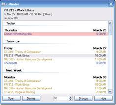 Small Desktop Calendar Free A Free Desktop Reminder Utility For Google Calendar What U0027s On My Pc