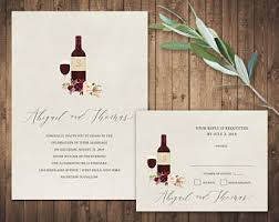 vineyard wedding invitations vineyard wedding invitations set printable rustic wine country