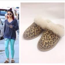 ugg scuffette ii slippers sale 64 ugg shoes reduction ugg scuffette ii leopard