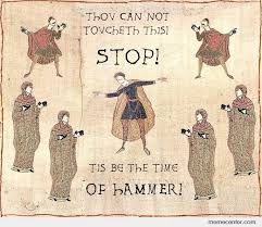Old Time Meme - old english hammer time by ben meme center