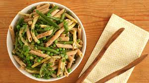 Summer Garden Pasta - pasta salad with peas and summer beans