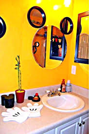 mickey mouse bathroom ideas warm kids bathroom mirror parsmfg com