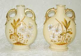 austrian vases antique antique pair victoria carlsbad austria white jonquil daffodil