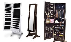 mirror and jewelry cabinet best popular tall mirror jewelry cabinet for household decor 1pop info