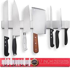 amazon com premium 17 inch stainless steel magnetic knife holder