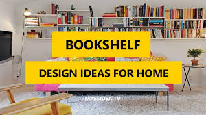 50 awesome bookshelf design ideas for home 2017 youtube