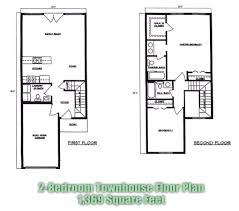 2 bedroom townhouse floor plans u2013 readvillage