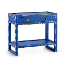 marco blue console table by bungalow 5 collectic home
