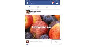 membuat facebook yg baru begini cara membuat status berlatar foto di facebook tekno