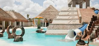 tips for cancun with babies and toddlers from family travel experts a pool perfect for young children at finest playa mujeres cancun with babies and toddlers