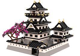 Japanese Castle Floor Plan Lego Ideas Japanese Castle