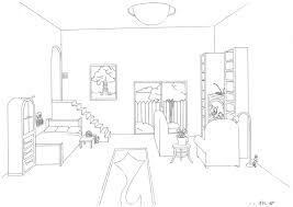 drawn room 1 pt pencil and in color drawn room 1 pt