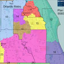 Orlando Metro Map by The Ultimate Guide To The Six State Senate Base Maps Florida