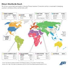 China On A Map by Chinese Investment In The U S Set A Record Last Year