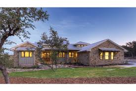 country home plans one hill country fusion hwbdo75774 ranch from builderhouseplans com