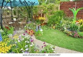 Backyard Flower Bed Ideas Backyard Flower Garden Garden Design With Flower Beds To Tantalize