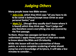 quote from the bible about hard work how do you judge people you do not truly know