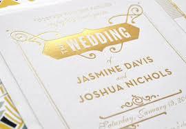 gatsby invitations white letterpress great gatsby invitations