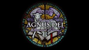 stained glass window agnus dei stained glass window youtube
