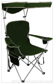 Sports Chair With Umbrella Folding Beach Chair With Canopy Home Design Gallery