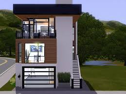 modern small house designs uncategorized narrow lot small house plan modern inside