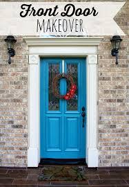 huckleberry love front door makeover