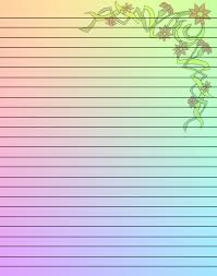 writing paper with borders free printables stationery writing