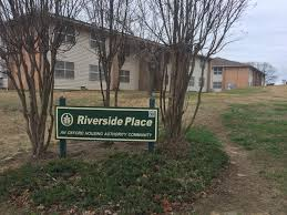 oxford housing authority and city officials address riverside 1 2017 teasha sanders and jeff mcclure of the oxford housing authority sat down with city officials and local media outlets the impromptu meeting was
