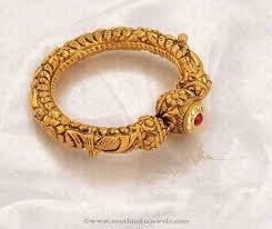 gold vintage bracelet images Gold antique bangle design from jos alukkas pinterest bangle jpg