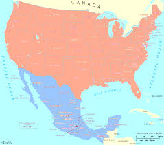 Images Of The United States Map by Map Of The United States And Mexico Evenakliyat Biz