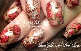 nail designs with roses images nail art designs