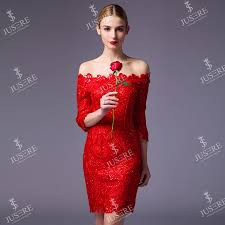 quarter sleeve red lace cocktail dress dress images