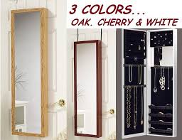 jewelry box wall mounted cabinet wall jewelry box over the door jewelry hanger door hanging wall