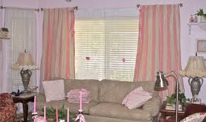 Pink Striped Curtains Alluring Pink And White Striped Curtains And Curtains Pink And