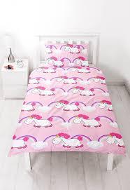 Postman Pat Duvet Set New Despicable Me Minions Pink Unicorn Single Duvet Quilt Cover