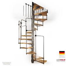 luxholm treppen preise wendeltreppe bausatz luxholm mit holzstufen und stahlgeländer