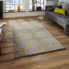 royal nomadic 5746 grey yellow rugs modern rugs woonkamer
