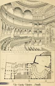 10 best opera garnier floor plans images on pinterest floor 1868 gaiety theatre the strand london vanished london archiseek irish architecture